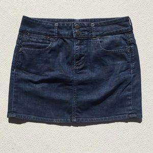 Old Navy Denim Skirt Mint Shape 8